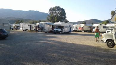 Piazzale camper