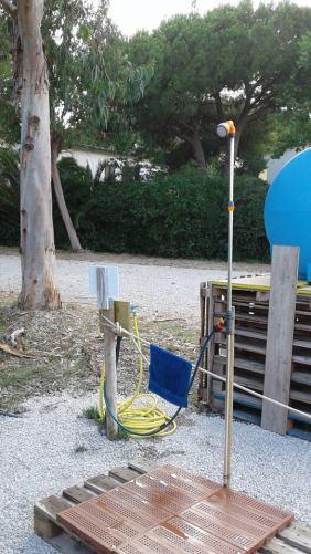 servizio doccia beach